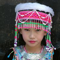 Thai Girl in Traditional Dress