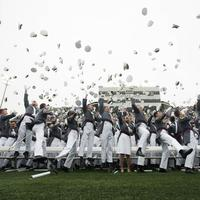 West Point Graduating Class Celebrating
