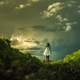 women-in-white-dress-under-clouds-in-the-landscape
