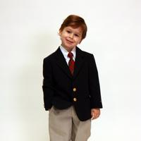 Young Boy in Suit