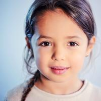 Young Girl face portrait