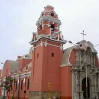 Barranco Church in Lima, Peru