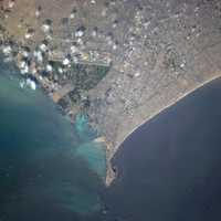 Space Photo of Lima, Peru
