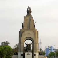 War Memorial for the Ecuador-Peru War in Lima, Peru
