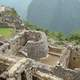 Temple of the Sun or Torreon at Machu Picchu, Peru