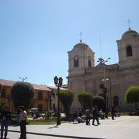 Cathedral Huancayo in Peru