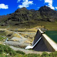 Hydroelectric Power Station in Peru