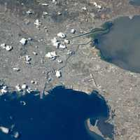 ISS Satellite Photo of Manila and the surrounding cities