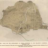 The Burnham Plan of Manila, Philippines