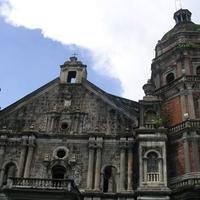 Binondo gothic church in The Philippines