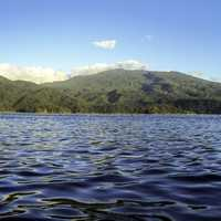 Waters of Lake Buhi in the Philippines