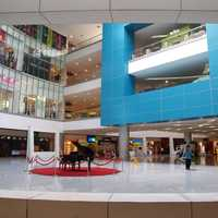 Interior of Shopping Mall in Quezon City, Philippines