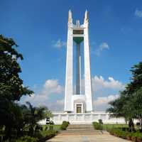 Quezon Memorial Shrine in Quezon City, Philippines