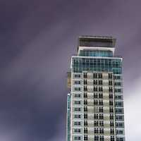 Tower under the sky in Quezon City, Philippines