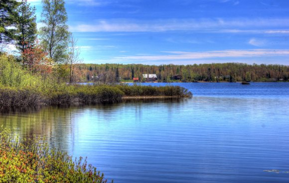 Curving Lakeshore