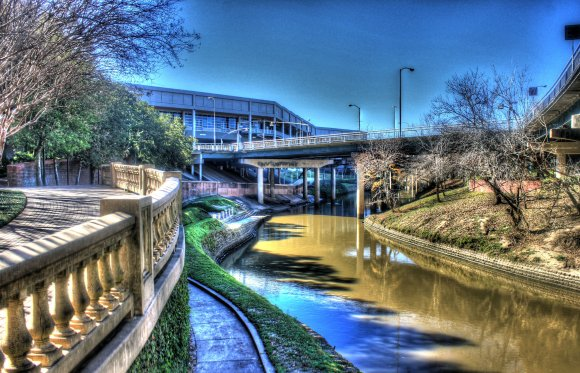 Bayou in Houston