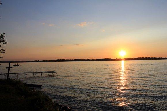 Sunset on Waubesa