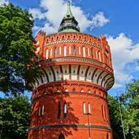 19th Century Water Tower in Bydgoszcz