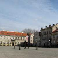 Liberty Square in Konin, Poland