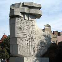 Monument to defenders of Polish sites in Danzig
