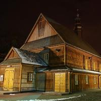 Old Church of Saint Florian in Stalowa Wola, Poland