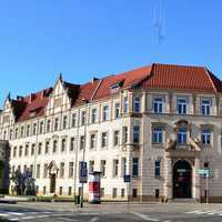 Police headquarters in Szczecin