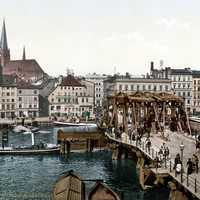 Stettin in the late 19th century in Szczecin