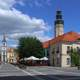 Town Hall and Main Square in Zielona Gora
