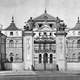 Brühl Palace before destruction in 1944 in Warsaw, Poland