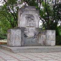 Soviet Soldiers Monument in Warsaw, Poland