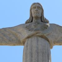 Statue of Christ in Lisbon, Portugal