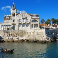 Panorama of Cascais, Portugal
