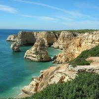 Shoreline of Algarve, Portugal