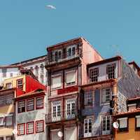 Houses and Buildings in Porto Portugal
