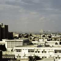 Doha in the 1980s in Qatar