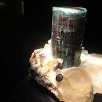 Elbaite and Quartz