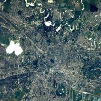 Aerial Image of Bucharest, Romania