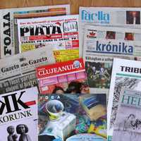 Newspapers in Cluj-Napoca, Romania