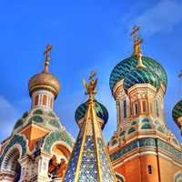 Russian Basilica in Moscow, Russia