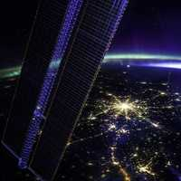 Sprawl of Moscow, Russia from the ISS