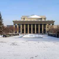 Opera House in Novosibirsk, Russia