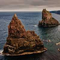 Stacks of Duncansby in Scotland
