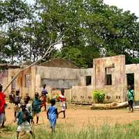 School in Koindu , Sierra Leone