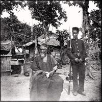 Temne leader Bai Bureh after his Surrender in 1898 in Sierre Leone