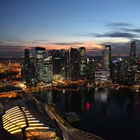Full Cityscape view of Singapore