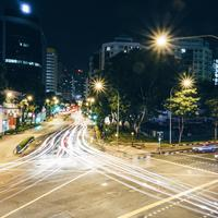 Night Time, Time-Lapse of Singapore Streets