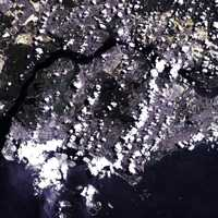 Satellite image of Singapore
