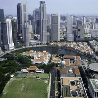 Skyline and cityscape of Singapore