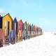 Houses on the Beach in Cape Town South Africa