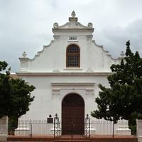 Old White Church Building in Cape Town, South Africa